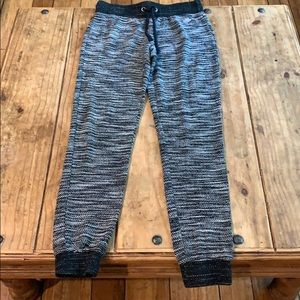 Maurice's Marled Jogger Pants Black & White XS
